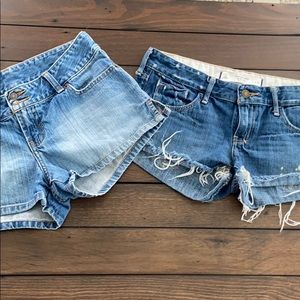Abercrombie &Fitch bundle of 2 shorts